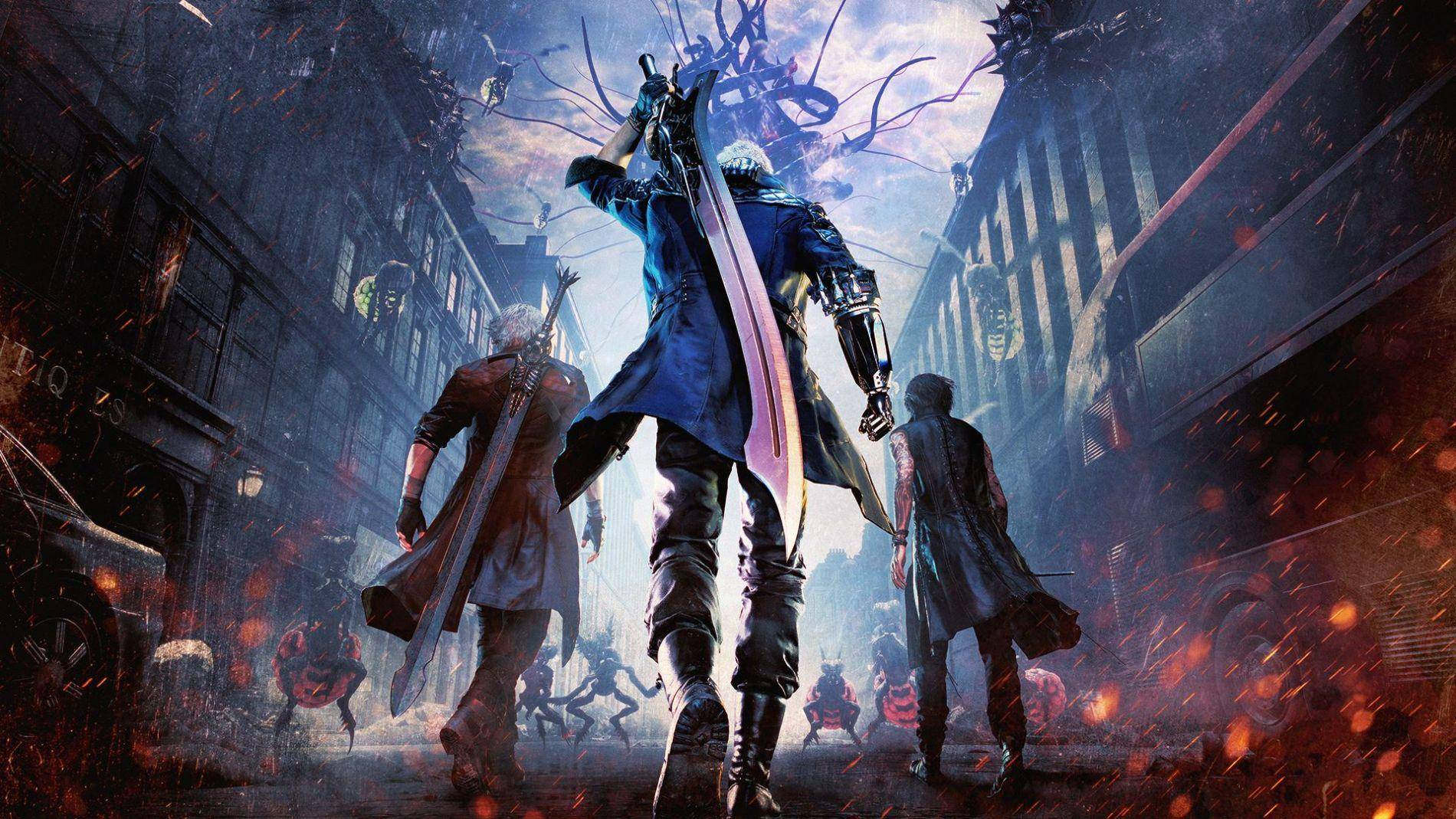 ¡Mira cómo se grabó Devil May Cry 5!