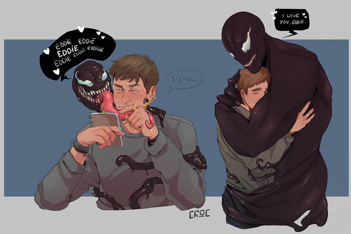 Es oficial, Venom y Eddie Brock son la pareja del año 3