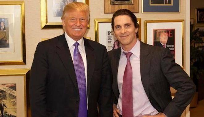 """Creyó que yo era Bruce Wayne"" el día que Donald Trump conoció a Christian Bale 1"