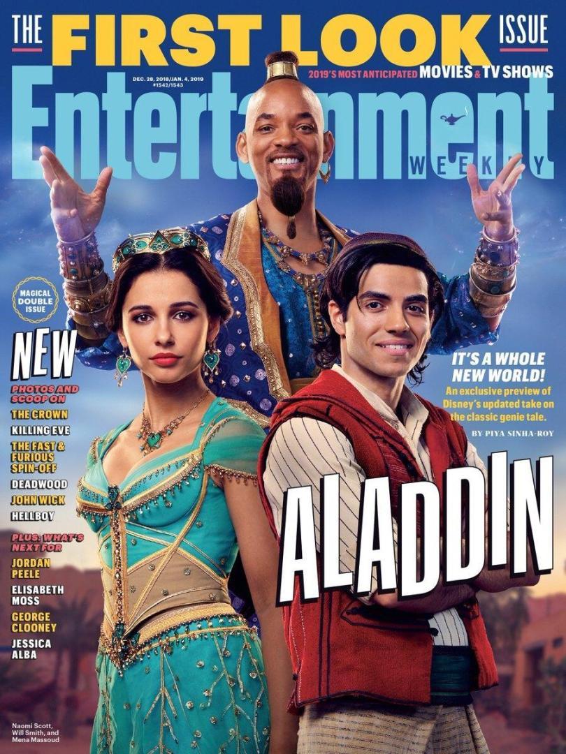 Aladdin: Primeras fotos, detrás de cámaras y detalles del Live-Action de Disney 1