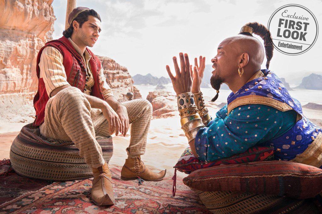 Aladdin: Primeras fotos, detrás de cámaras y detalles del Live-Action de Disney 2
