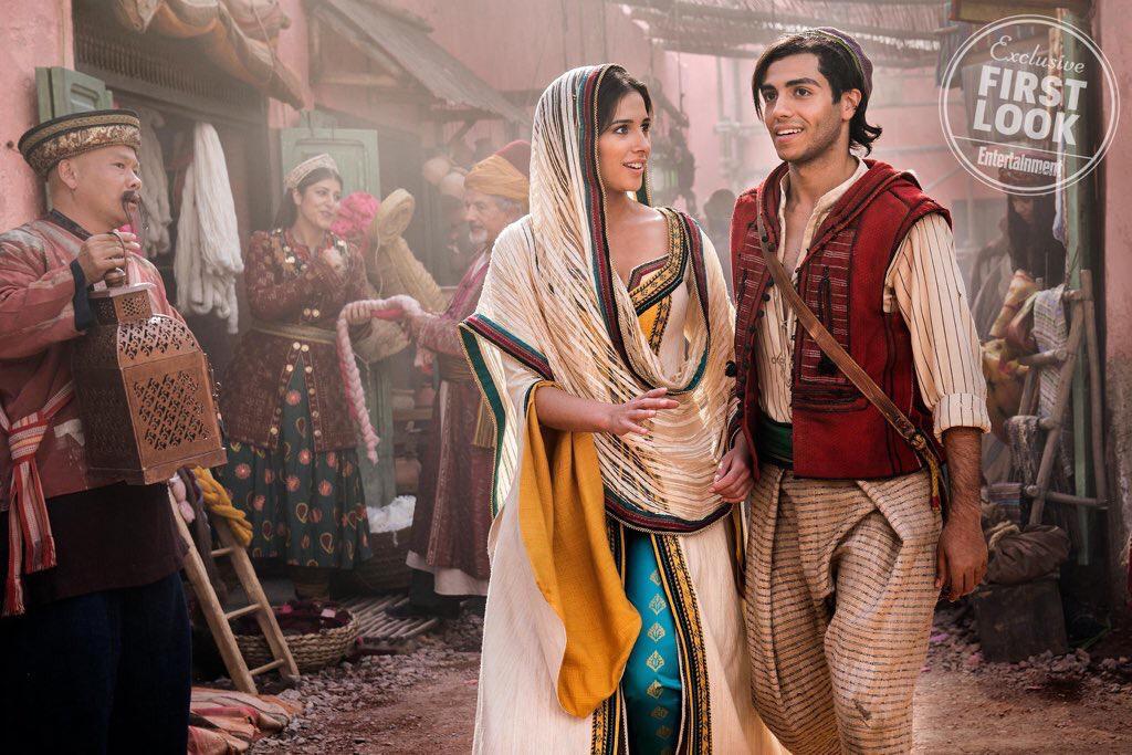 Aladdin: Primeras fotos, detrás de cámaras y detalles del Live-Action de Disney 3