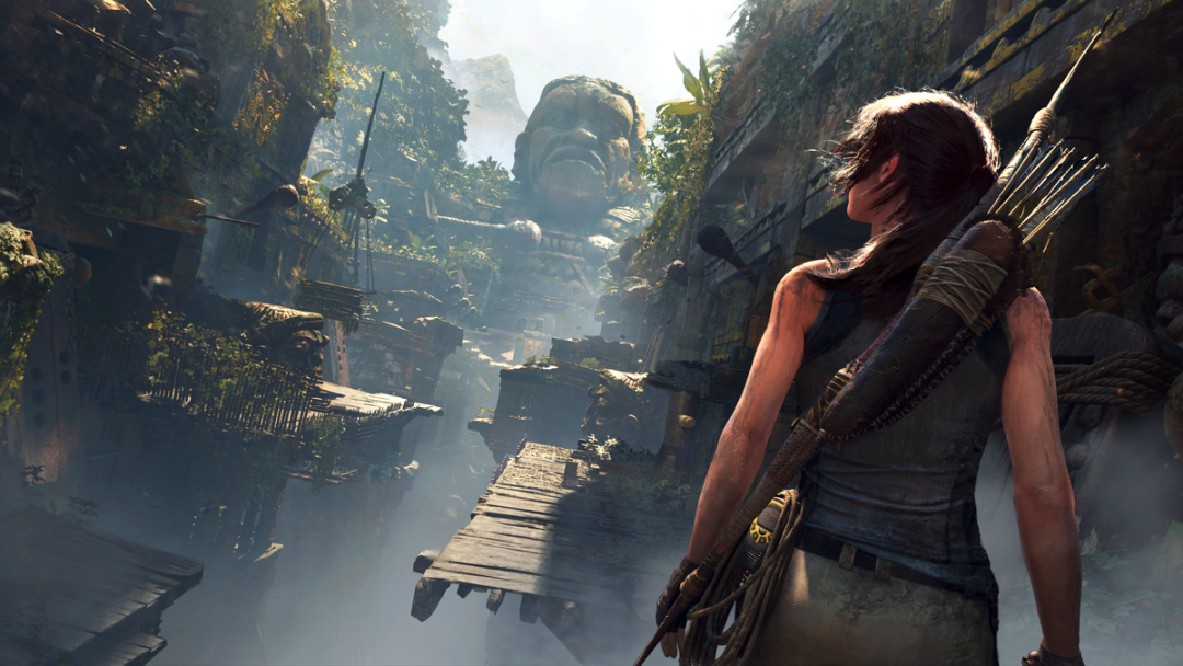 Mira cómo se hicieron algunas tomas de Tomb Raider