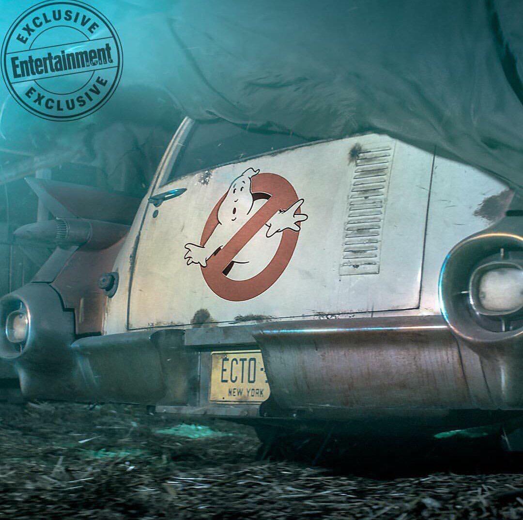 ¡Mira los primeros detalles de la nueva cinta de Ghostbusters! 2