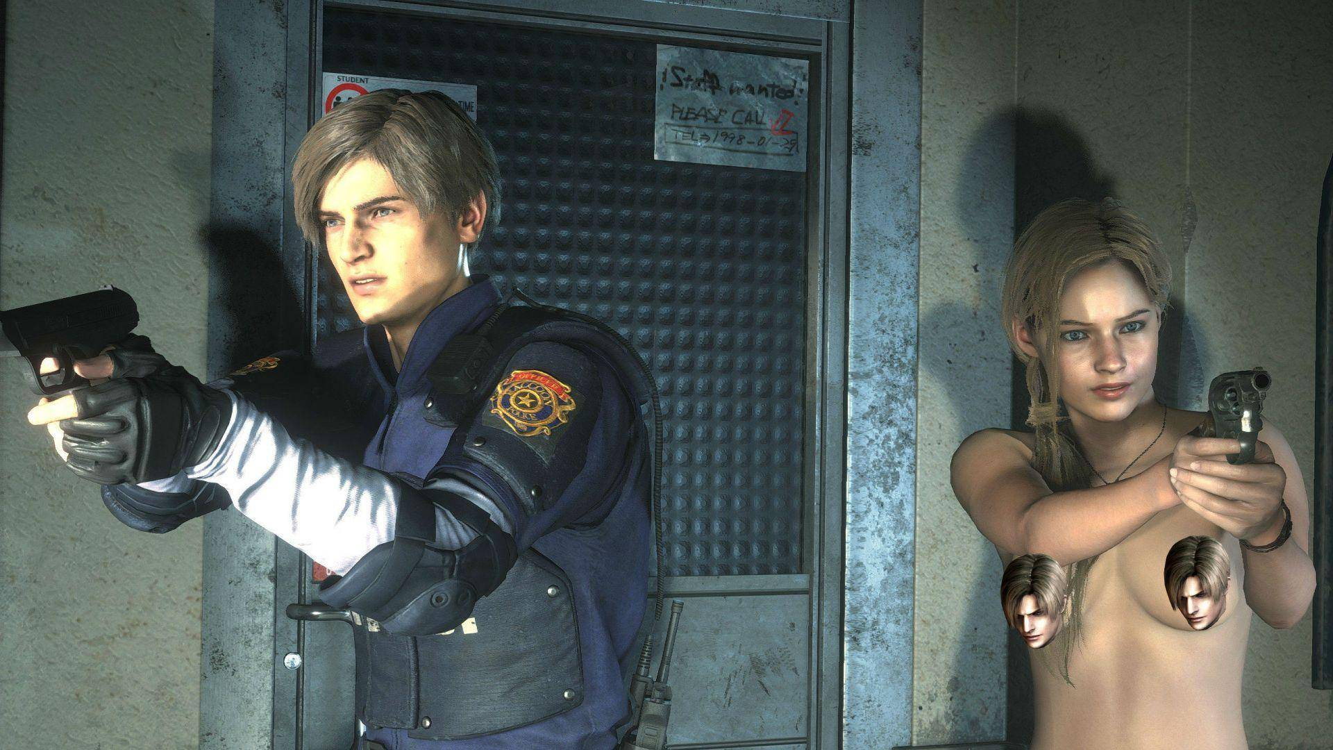 Resident Evil 2 Y Jump Force Ya Tienen Nude Mods    Enfermos