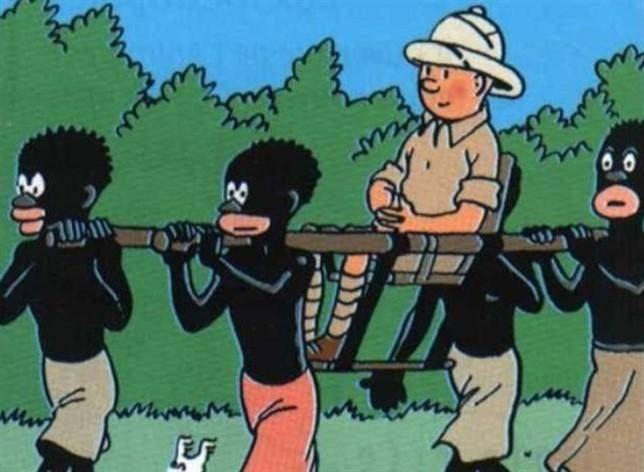 Tintin en el Congo (1931)