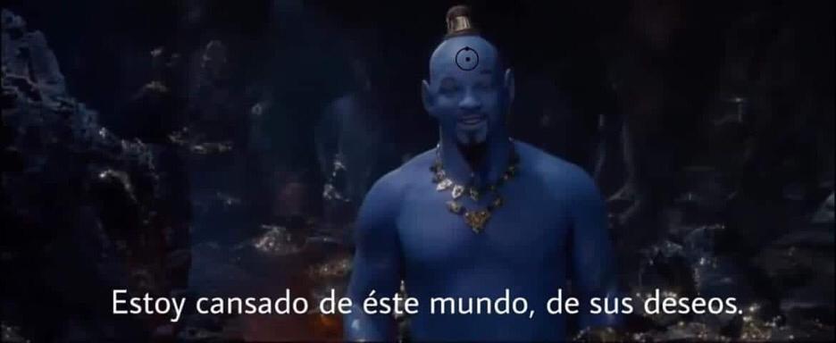 El Internet reacciona al primer vistazo del Genio de 'Aladdin' 3