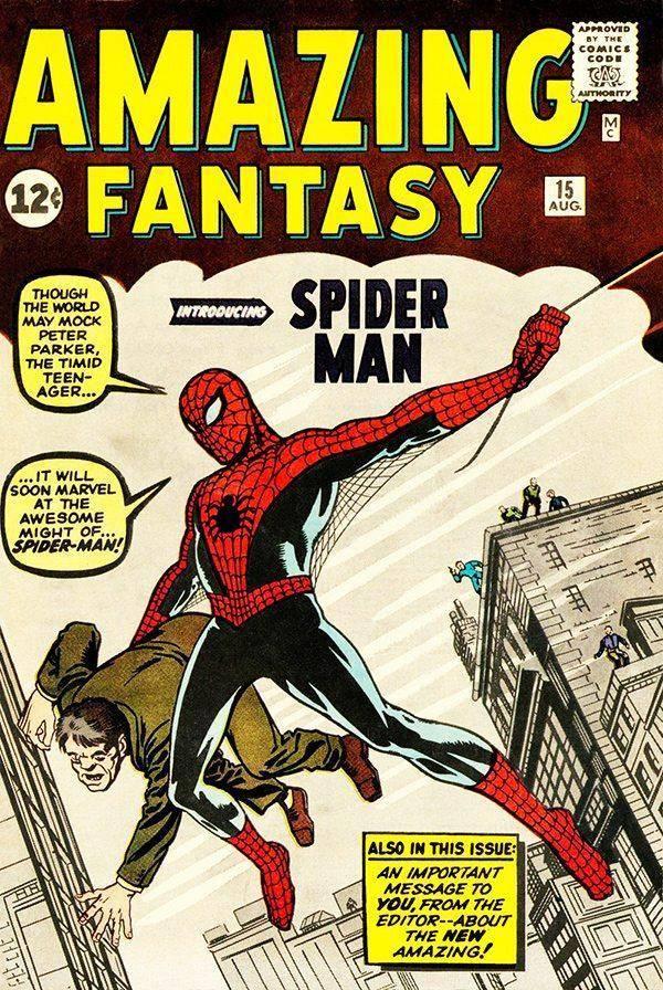 Amazing Fantasy #15(1962)