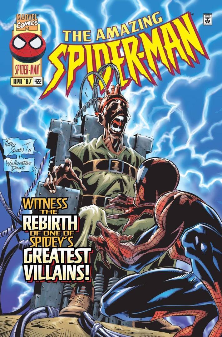 Amazing Spider-Man #422 (1997) portada de Joe Benet