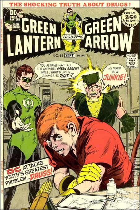 Green Lantern / Green Arrow #85 (1971)Portada de Neal Adams