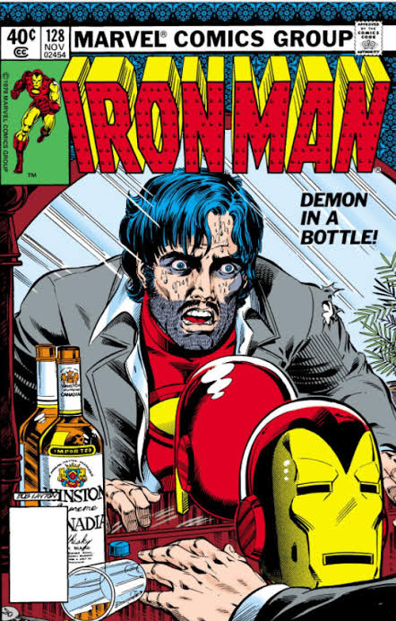 Iron Man #128 (1979) Portada de Bob Layton