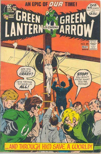 Green Lantern / Green Ajrrow #89 (1972)Portada de Neal Adams