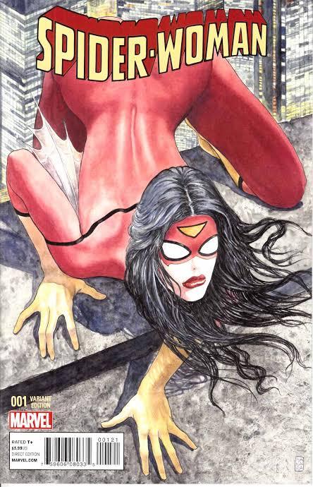 Spider-Woman #1 (2014) Var. Milo Manara