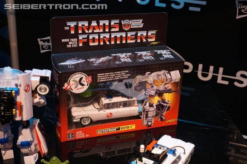 ¡Hasbro celebra los 35 años de Transformers y Ghostbusters! 3