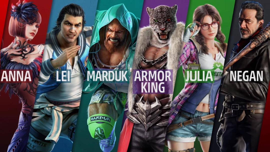 Negan y Julia Chang pronto llegarán a Tekken 7 1