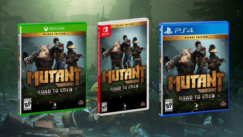Mutant Year Zero: Road to Eden llegará al Nintendo Switch 1