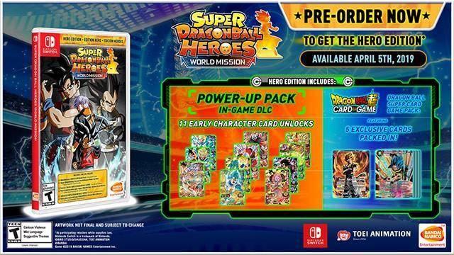 Conoce los modos de juego de Super Dragon Ball Heroes: World Mission 1