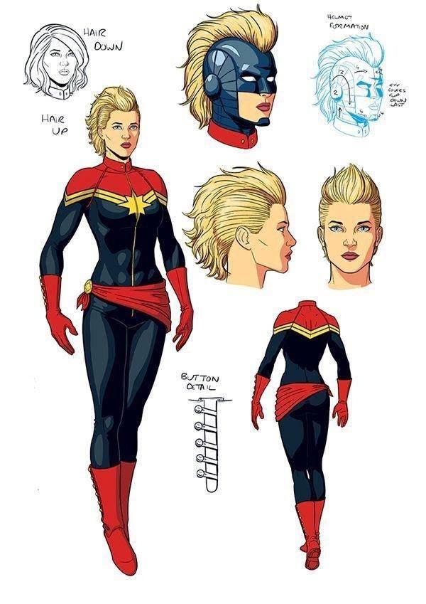 La re-invención de Captain Marvel (2012)