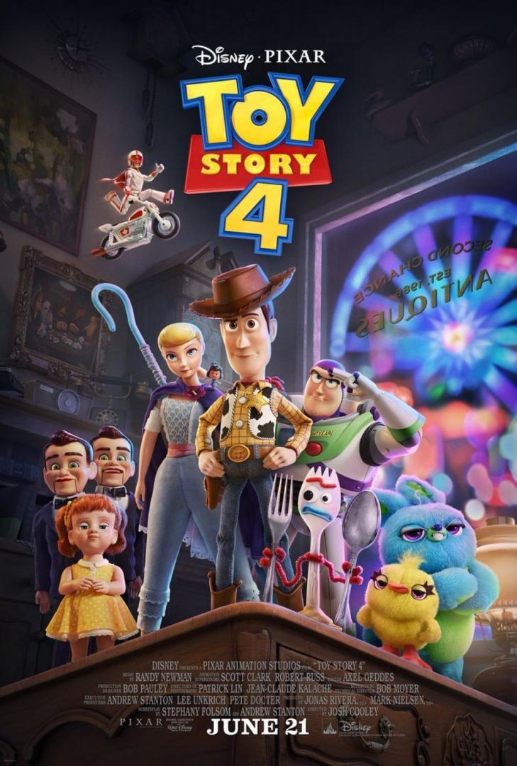 """Disney presenta el primer trailer extendido de """"Toy Story 4"""" 1"""