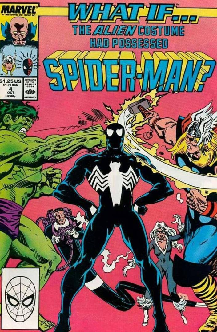 What If? The alien costume Had possesssed Spider-Man (1989)