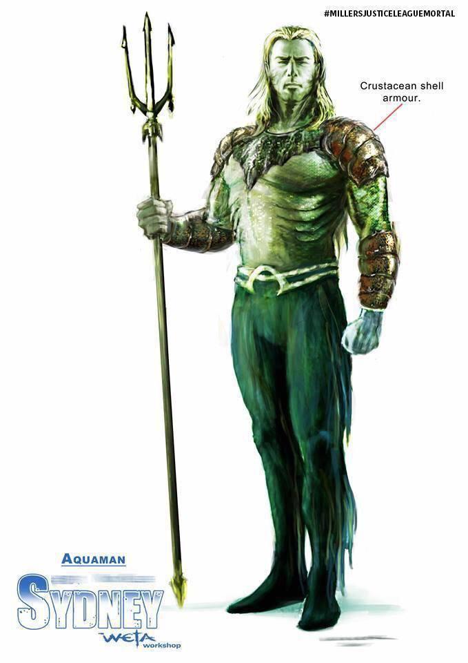 """Mira los nuevos bocetos de """"Justice League Mortal"""" 4"""