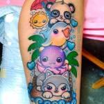 #ArtistaÑoño de la semana: Los tatuajes kawaii de Yam G. Rocha ? 12