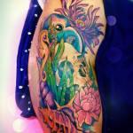 #ArtistaÑoño de la semana: Los tatuajes kawaii de Yam G. Rocha ? 9