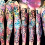 #ArtistaÑoño de la semana: Los tatuajes kawaii de Yam G. Rocha ? 24