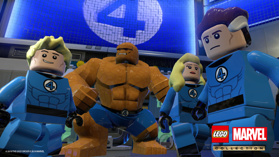 ¡Habrá Lego Marvel Collection! 3