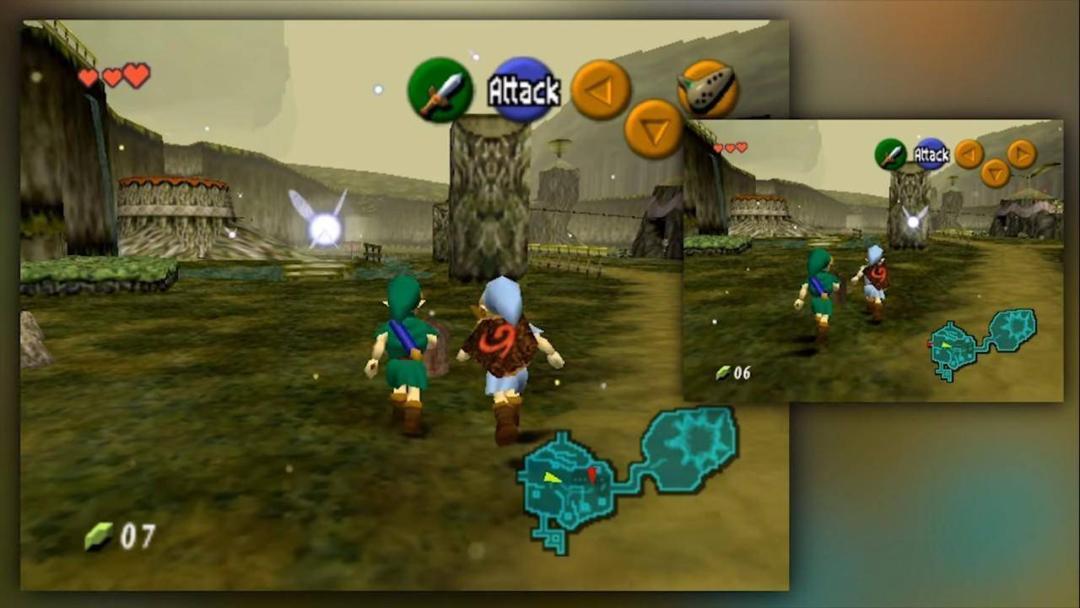 The Legend of Zelda: Ocarina of Time obtiene modo multiplayer 1
