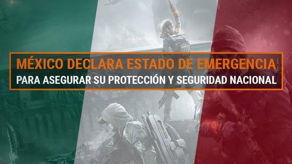 ¡México declara estado de emergencia en Tom Clancy's The Division 2! 1