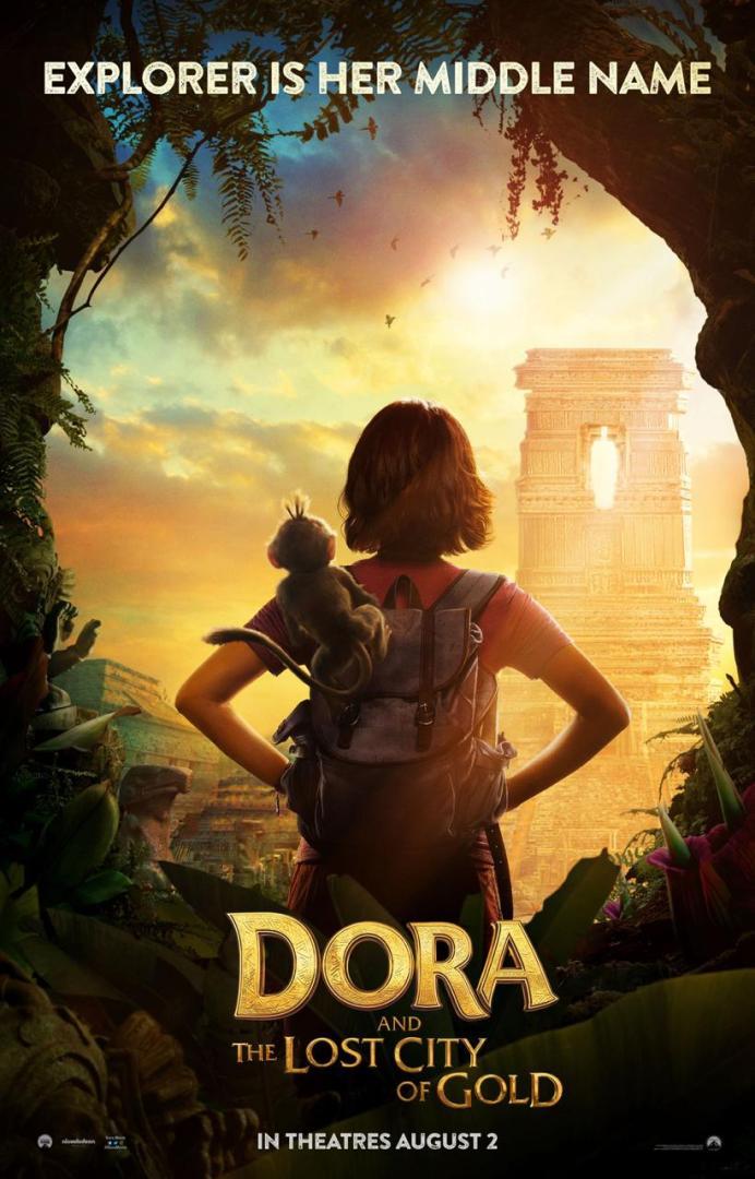 ¡Llegan los primeros posters del live-action de Dora, la Exploradora! 1