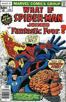 Spider-Man Joined Fantastic Four (1977)