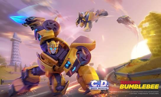 Juega como Bumblebee, en este juego de supervivencia para móviles 1