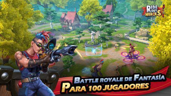 Pre-registro para el Battle Royale, Ride Out Heroes, en Google Play 1