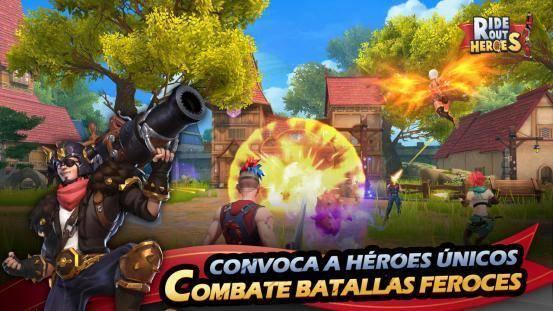 Pre-registro para el Battle Royale, Ride Out Heroes, en Google Play 2
