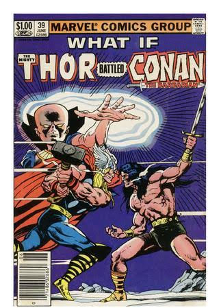 What If? Conan The Barbarian Battled Thor/Wolverine (1983)