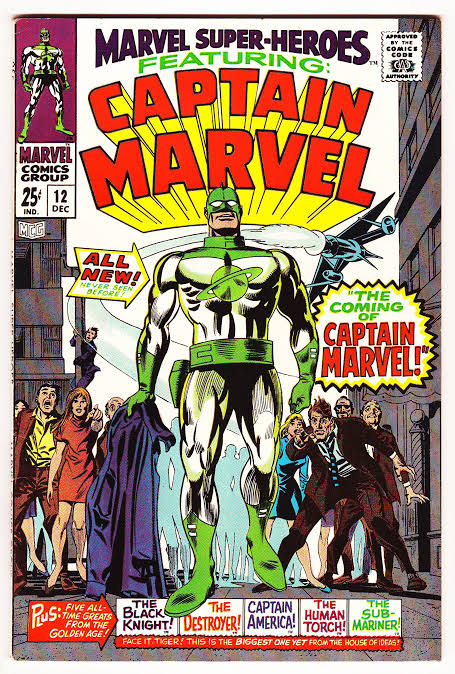 Marvel Super-Heroes #12 Featuring Captain Marvel (1967)