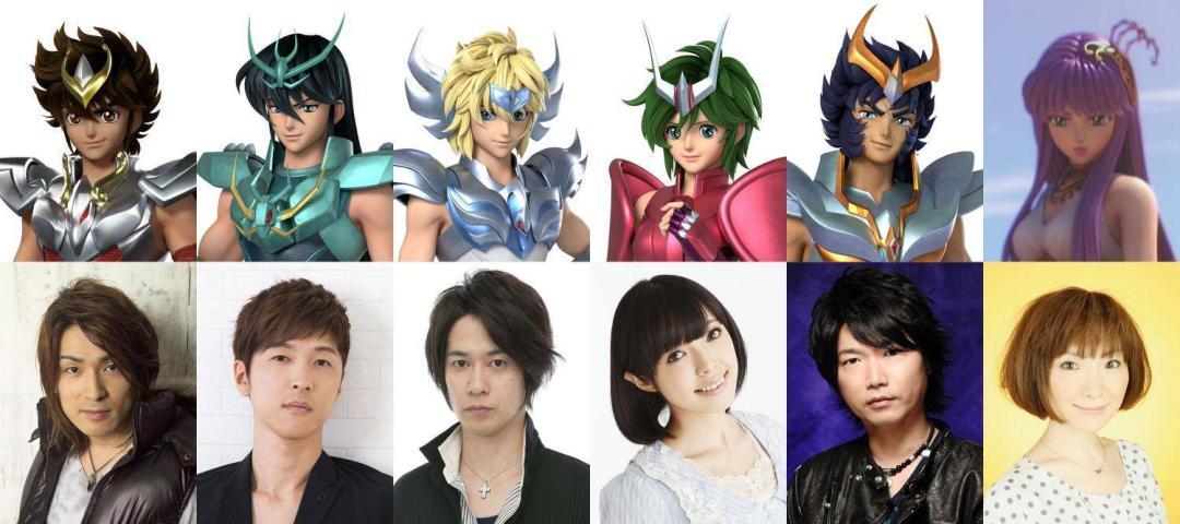 Los Caballeros del Zodiaco de Netflix: revelan elenco japonés 1