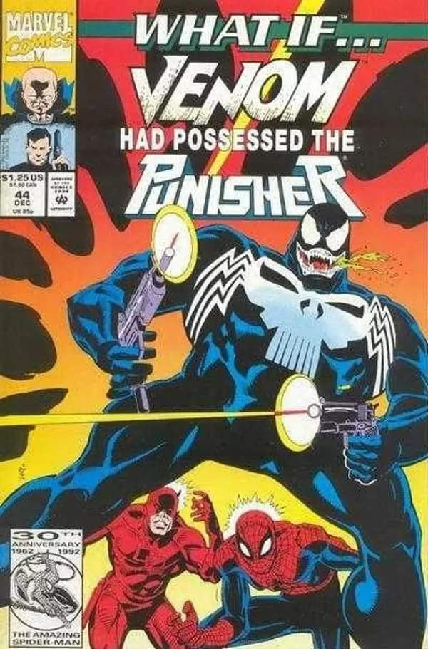What If? Venom Had possesssed the Punisher (1992)