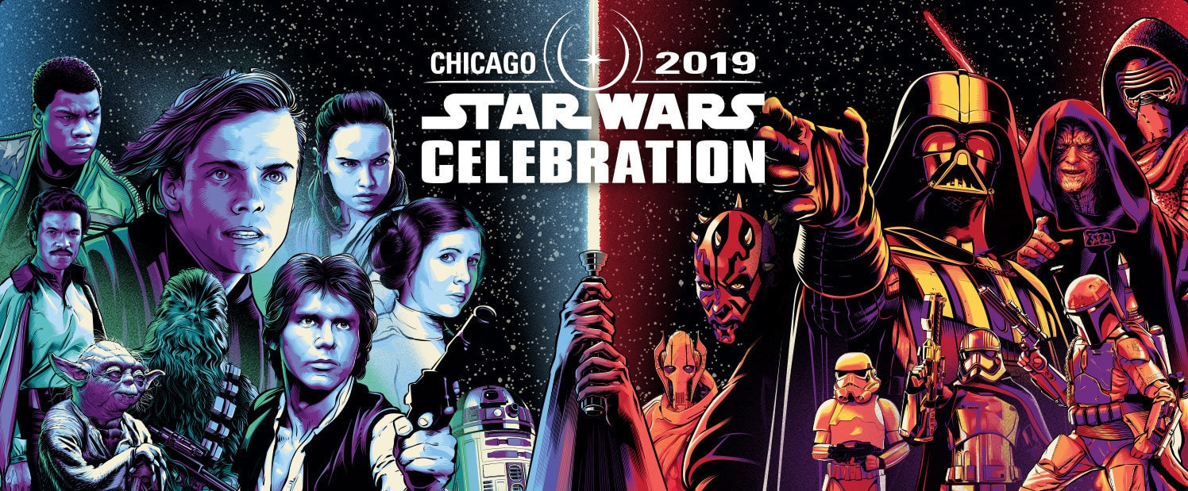 Revelan mercancía exclusiva para la Star Wars Celebration Chicago ✨