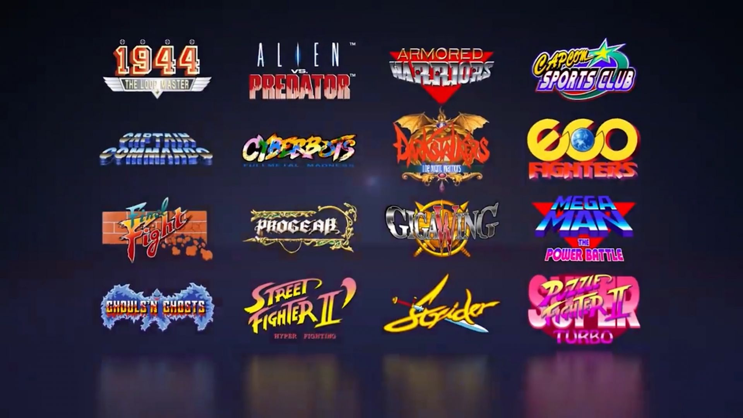"CAPCOM presenta el dispositivo ""Capcom Home Arcade"" 1"