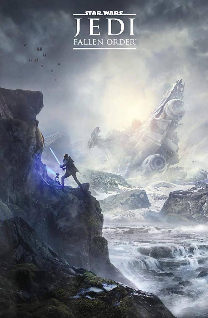 "Primeros pósters de ""Star Wars Jedi Fallen Order"" 1"