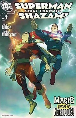 Superman/Shazam: First Thunder #1-4