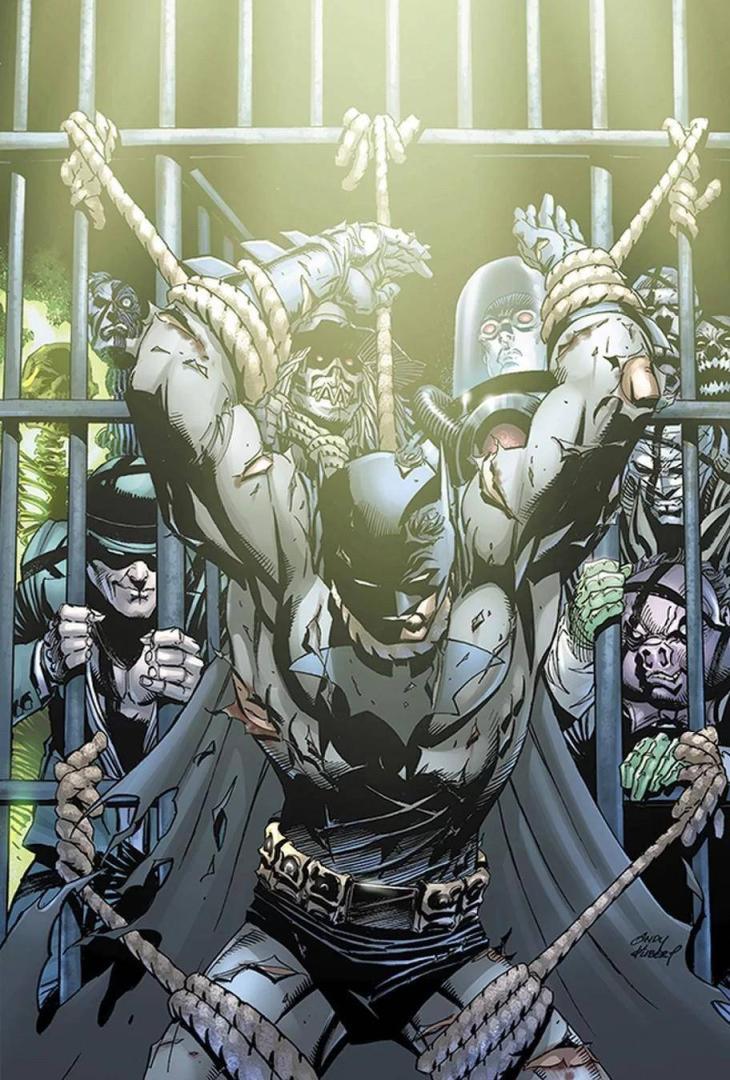 Batman #70 Portada de Andy Kubert