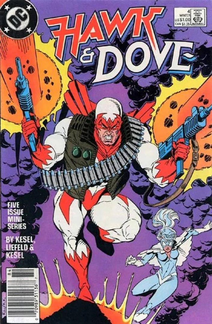 Hawk and Dove Vol.2 #4 (1988)