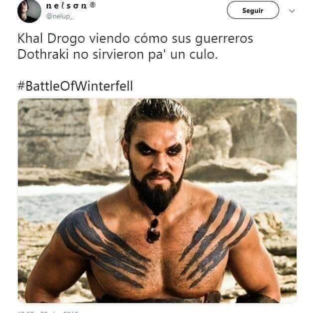 "El Internet reacciona a ""La Batalla de Winterfell"" 7"