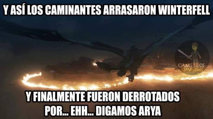 "El Internet reacciona a ""La Batalla de Winterfell"" 31"