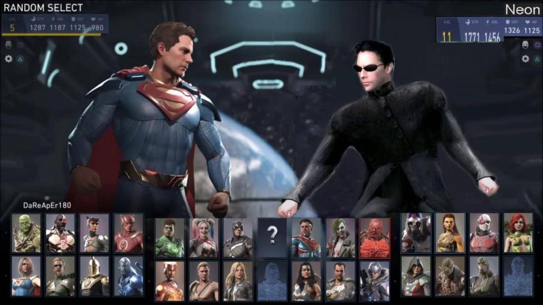 Neo de 'The Matrix' pudo aparecer en Injustice 2 1