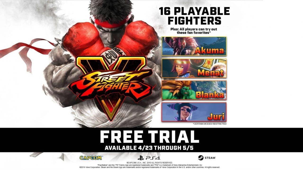 Juega gratis 'Street Fighter V' por dos semanas 1
